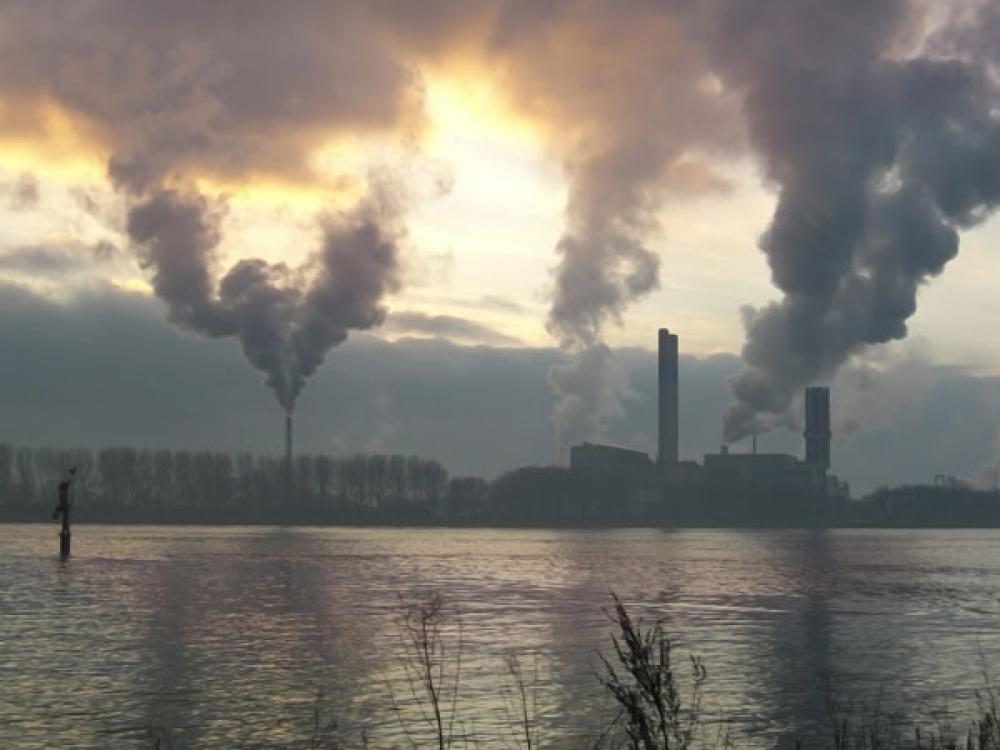 Päästöjä.