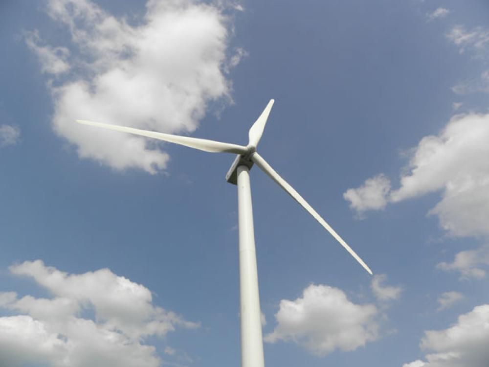 Tuulivoimaa.