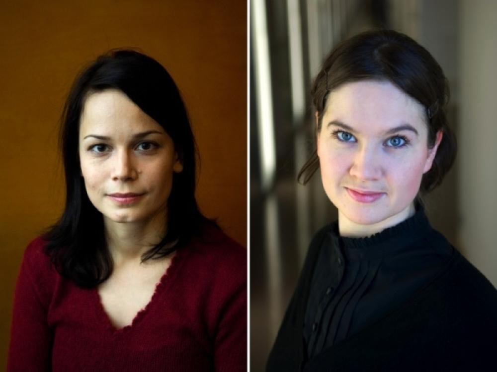 Mari Puoskari ja Johanna Sumuvuori