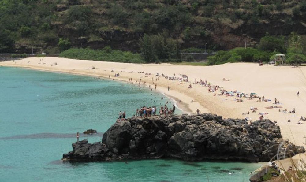 Waimea Bay.