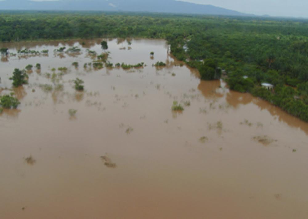 Hondurasin tulva.