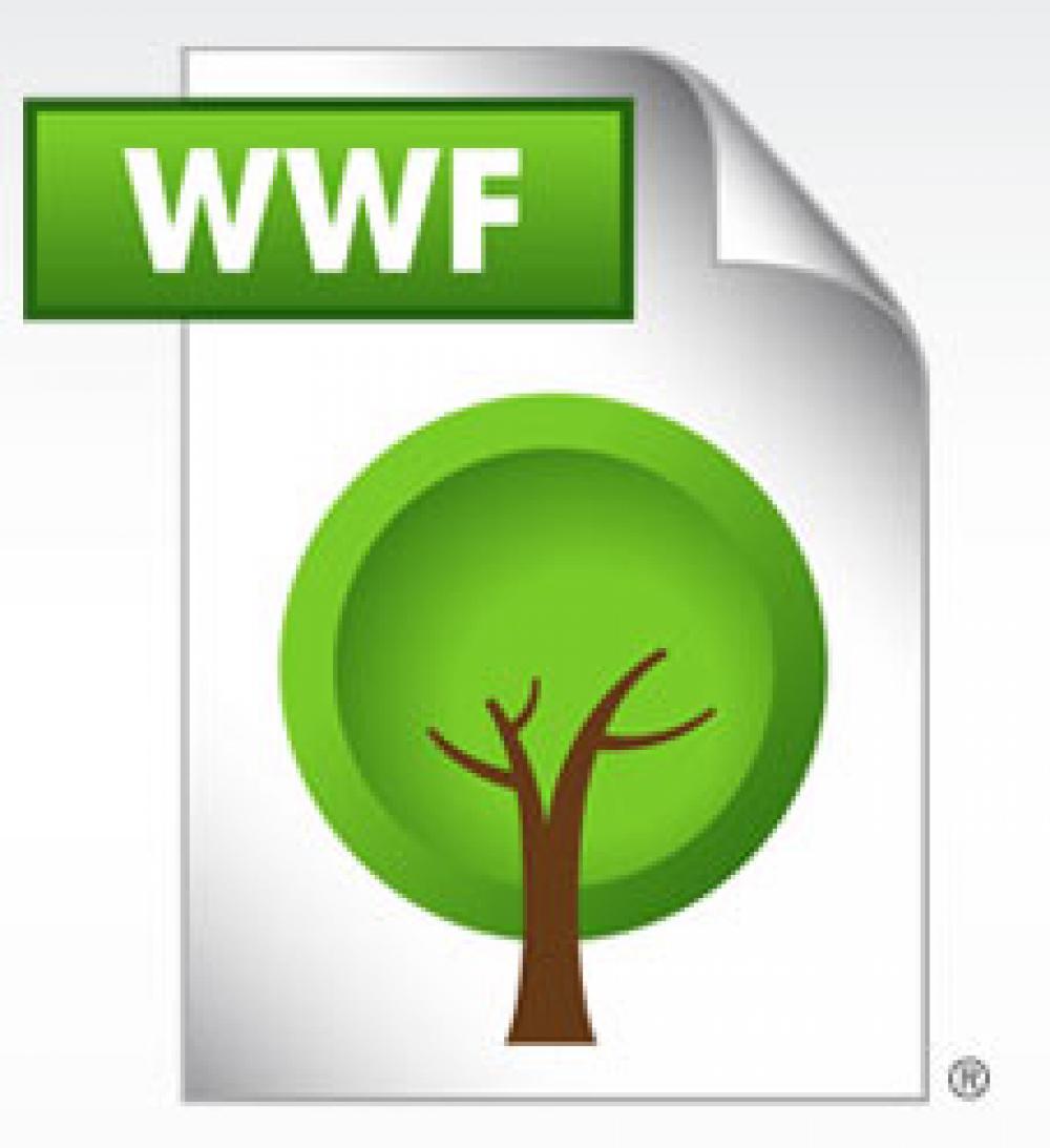 WWF-tiedoston logo.