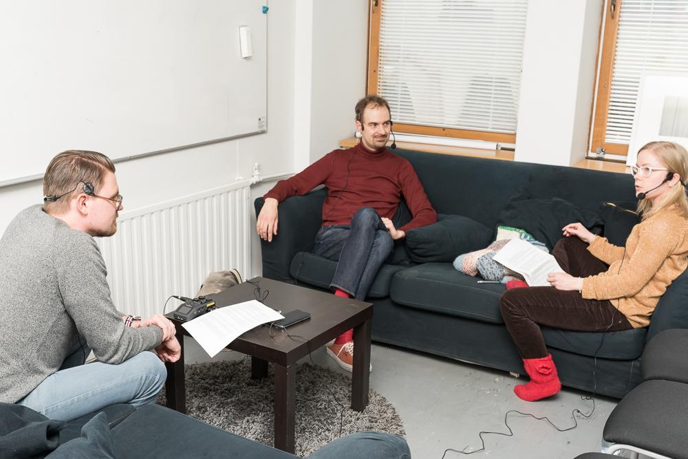 Lasse Leipola, Lasse Miettinen ja Jenni Leukumaavaara
