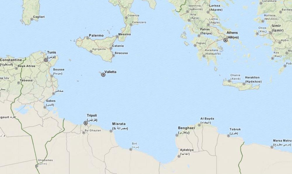 Eu N Libya Operaatiossa Kuollee Siirtolaisia Vihrea Lanka