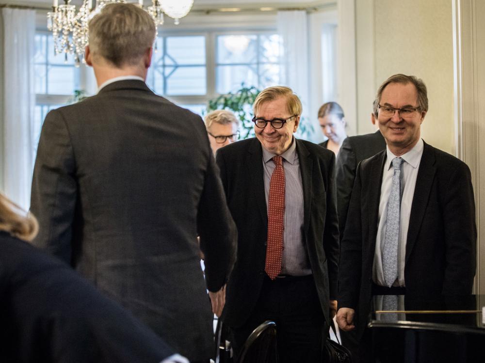 Markku Ollikainen ja Jyri Seppälä