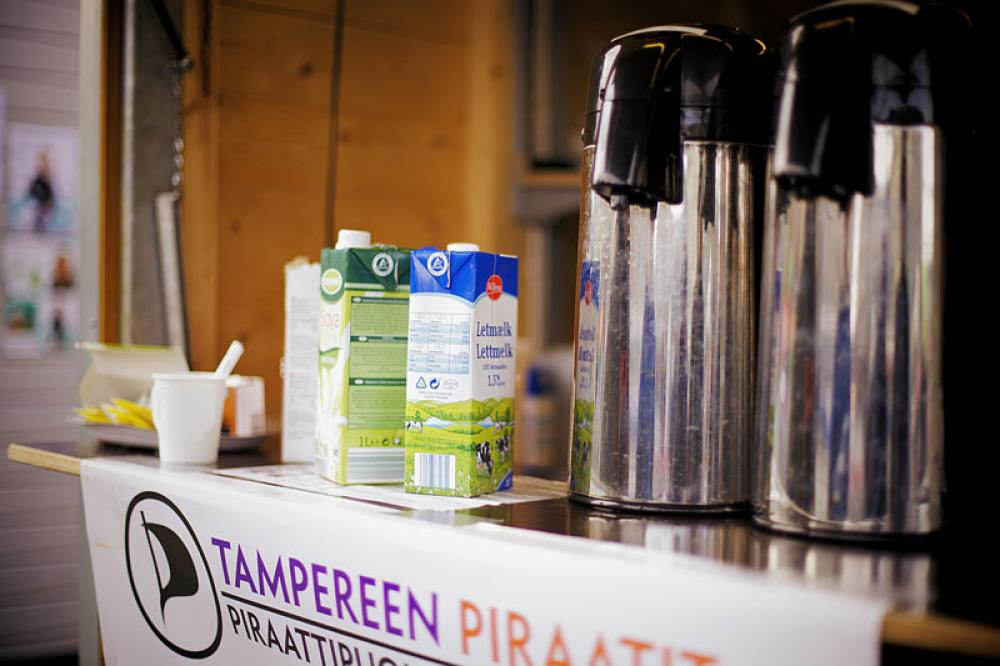 Piraattipuolueen kahvitarjoilu