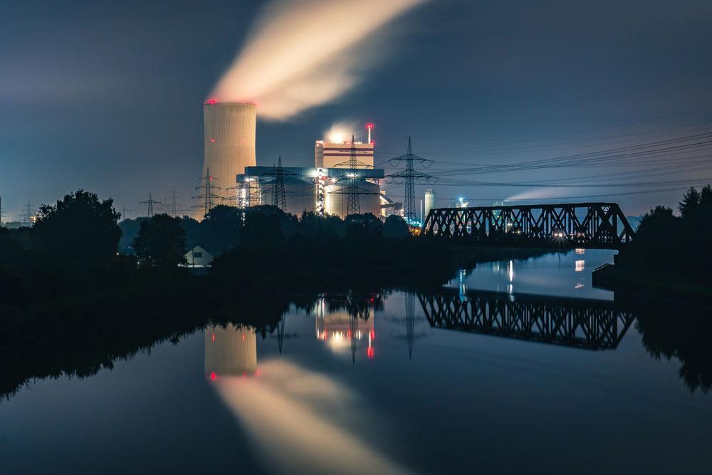 Hiilivoimala Saksassa