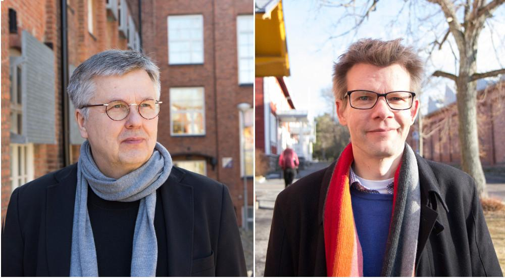 Ari Salminen ja Olli-Pekka Viinamäki