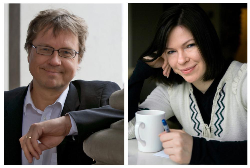 Pekka Sauri ja Anni Sinnemäki