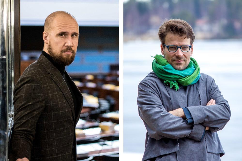 Touko Aalto ja Ville Niinistö