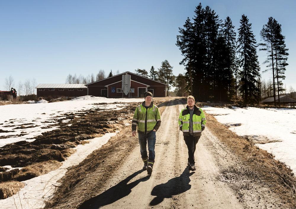 Harri Tuomainen ja Aleksi Kallioja