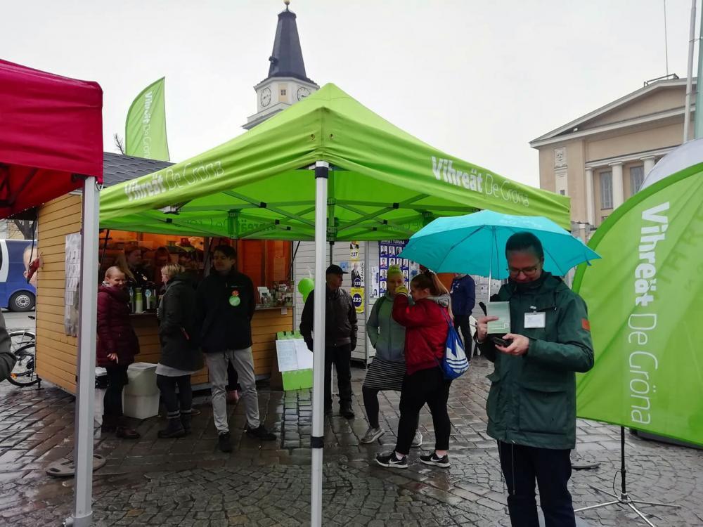 Tampereen vihreitä