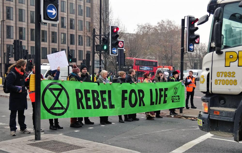 Extinction Rebellion Lontoossa