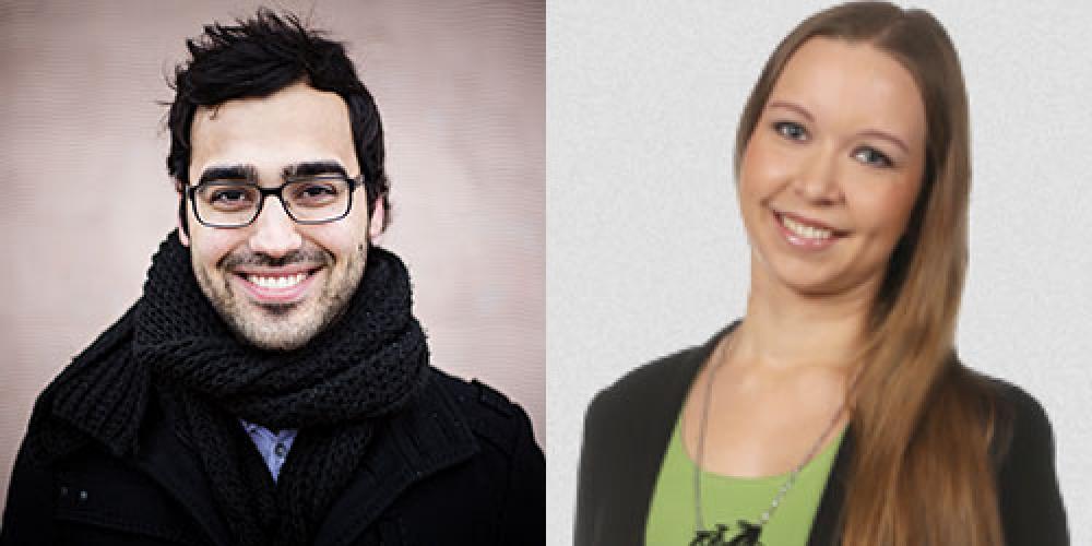Ozan Yanar ja Saara Ilvessalo