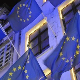 EU:n lippuja