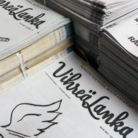 Pino Vihreä Lanka -lehtiä