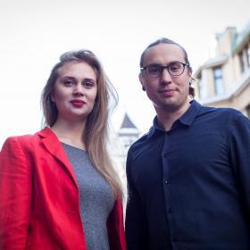 Amanda Pasanen ja Sameli Sivonen