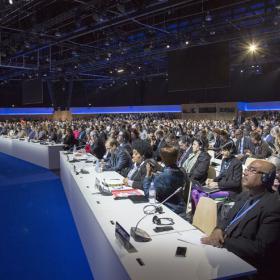 Pariisin komitean istunto joulukuussa 2015