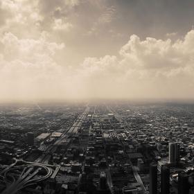 Kaupunki ilmasta nähtynä