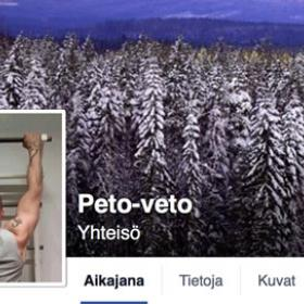 Kuvakaappa Peto-vedon Facebook-sivulta