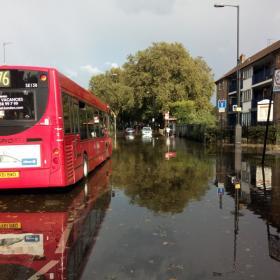 Tulva Lontoossa