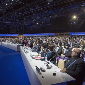 Pariisin komitean kokous joulukuussa 2015