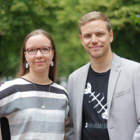 Saara Ilvessalo ja Jaakko Mustakallio
